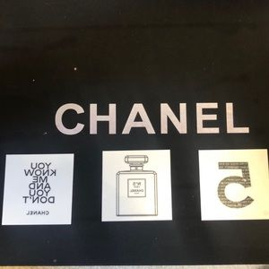 Chanel TEMPORARY TATTOOS 3 pieces